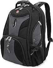 SWISSGEAR 1900 ScanSmart Laptop Backpack- Grey/Black