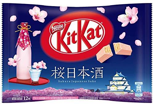 Japanisches Kit Kat Sake Schokolade