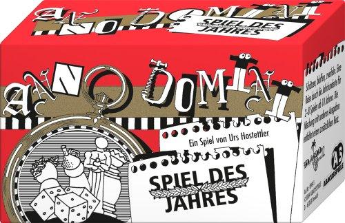 ABACUSSPIELE 09041 - Anno Domini - Spiel des Jahres, Quizspiel, Schätzspiel, Kartenspiel