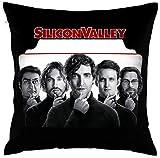 Ahdyr Funda de Almohada Decorativa de Temporada de Silicon Valley Fundas de Almohada de 18 x 18 Pulgadas