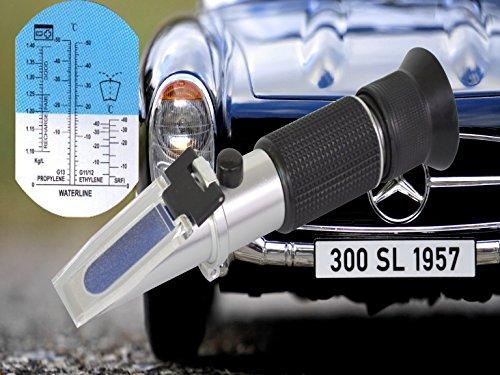 Refraktometer Frostschutz Scheibenwasser Batteriesäure AdBlue KfZ Glykol PKW IN-978 genaue Messung von Frostschutzmitteln im KFZ & oder für Solaranlagen mit Bedienungsanleitung in Deutsch
