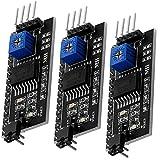 AZDelivery 3 x I2C IIC adattore interfaccia seriale per LCD Display HD44780 1602 e 2004 modulo con eBook
