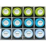 MADEIRA Overlock 8990/9892/9320 - Caja de hilos (3 x 1000 m, 9 x 1200 m), color verde, turquesa,...