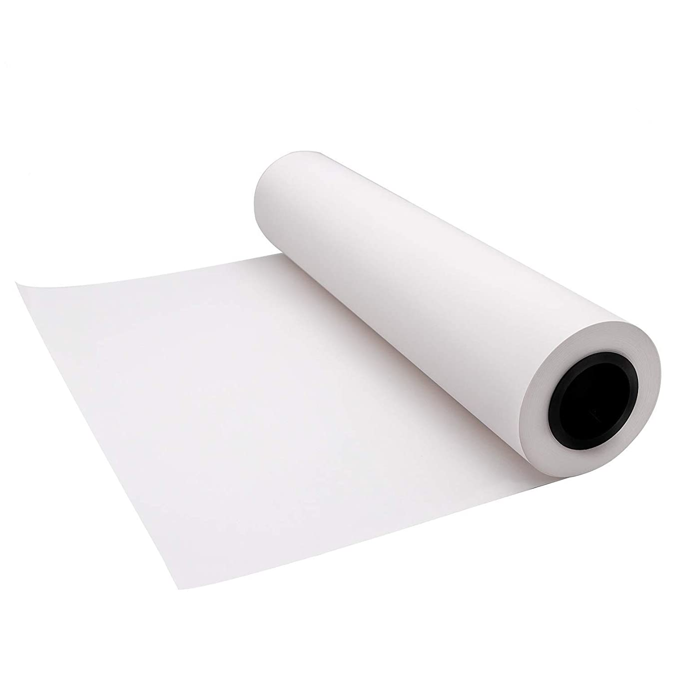 YRYM HT White Butcher Kraft Paper Roll - 18 inch x 175 Feet (2100 inch) - Food Grade FDA Approved – Great Smoking White Wrapping Paper for Meat of All Varieties –Unwaxed and Uncoated