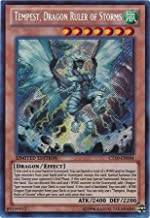 Yugioh Tempest Dragon Ruler of Storms CT10-EN004 Secret Rare Card by Yu-Gi-Oh!