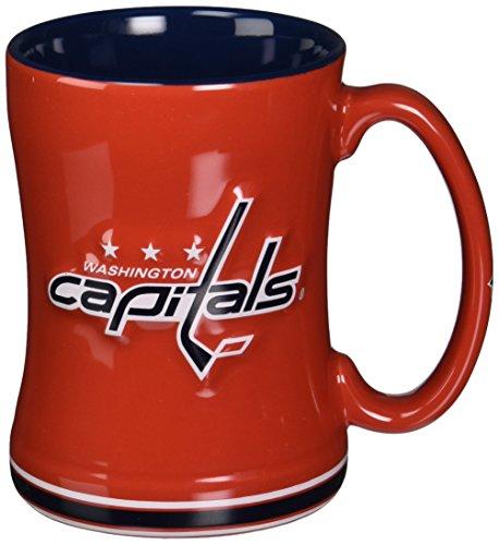 Washington Capitals - Logo 14 oz Sculpted Relief Mug