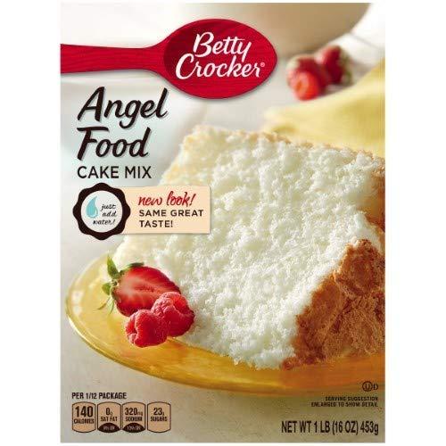 Betty Crocker Angel Food White Cake Mix (Pack of 2)