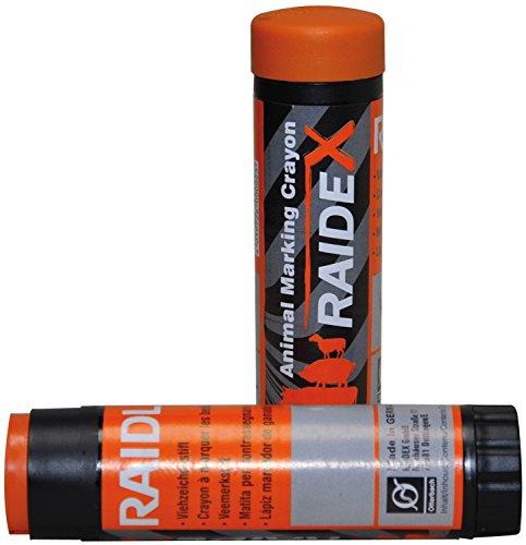 RAIDEX GMBH - Crayon à marquer RAIDEX étui plastique Orange - Boîte de 10