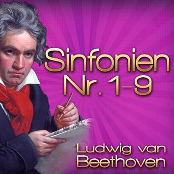 Ludwig van Beethoven: Sinfonien Nr. 1 - 9