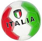 CUCUBA Ballon De Foot Italie Taille 5 Couleur Vert/Blanc/Rouge