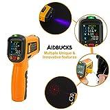 Zoom IMG-2 termometro a infrarossi aidbucks ad6530d
