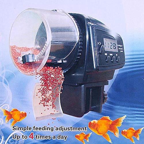 ksjdjok Fischen-Zufuhr-automatisches Aquarium-Minifisch-Zufuhr-automatischer LCD-Timer-Nahrungsmittelzufuhr-Selbstfisch-Behälter-Nahrungsmittelzufuhr-Timer-Produkt