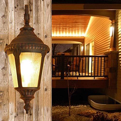 Lantaarn aan de muur wandlamp met kristallen wandlamp wandlamp wandlamp buitenverlichting wandverlichting wandverlichting wandverlichting wandverlichting wandverlichting wandverlichting wandverlichting wandverlichting E27 Altezza: 50 cm