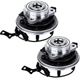 ECCPP Front Wheel Hub and Bearing Assembly 515078 fit Ford Explorer Sport Trac Mercury Mountaineer 4.0L 4.6L 2006-2010 wheel hub 5 lugs with ABS 3 Bolt Flange Left or Right 1 pcs