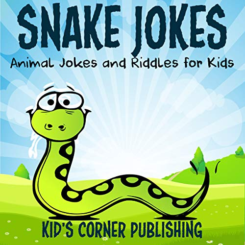 Snake Jokes audiobook cover art