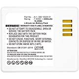 Synergy Digital Home Security Camera Battery, Compatible with Netgear VM4030 Home Security Camera, (Li-ion, 7.4V, 2200mAh), Replacement for Arlo 308-10029-01, 308-10047-01, A-1, A-1B Battery