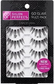 Salon Perfect Perfectly Natural Multi Pack Eyelashes, 615 Black, 5 Pairs