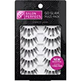 Salon Perfect Perfectly Natural Multi Pack Eyelashes, 615 Black, 5 Pairs