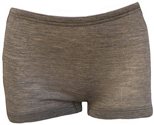 Engel Natur Damen-Pants | 70% Bio-Merono-Schurwolle, 30% Seide (38/40, walnuss)