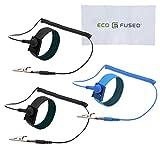 静電気防止リストストラップ - 3個パック -再利用可能な静電気防止リストストラップ、接地ワイヤと鰐口クリップ付き - 高感度な電子機器で作業中に自分を接地できるようにする