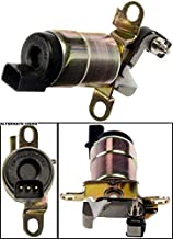 APDTY 035844 Shift Interlock Actuator Solenoid Fits Select 1992-2015 Ford, Lincoln, Mercury Models (See Description For Details; Replaces F2DZ-3Z719A, F2DZ3Z719A)
