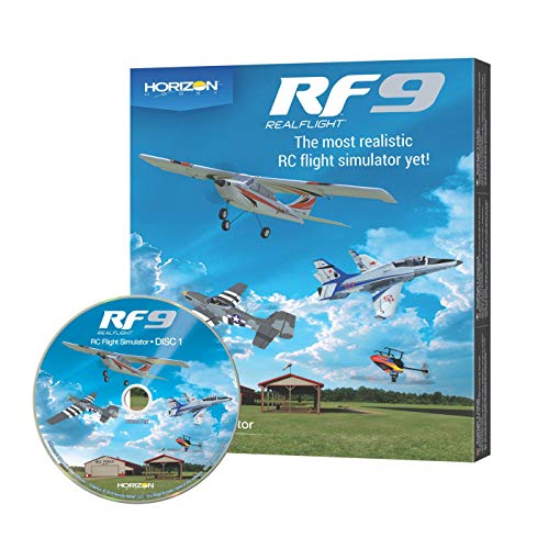 Realflight RF9 Modellbau Flugsimulator nur Software