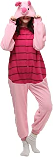 Piglet Onesie Adult. Pig Costume Kigurumi Pajama For Women and Teens.