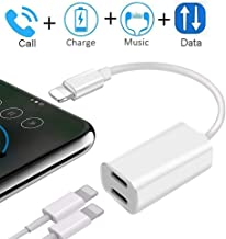 Best dual lightning headphone audio and charge adapter Reviews