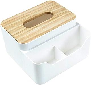JLCKS Desktop storage box cosmetic skincare multi-compartment plastic storage rack storage box tissue box remote control (...