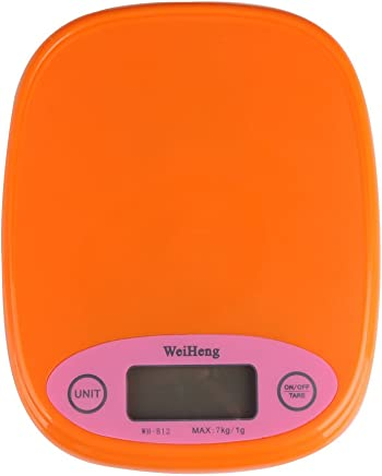 Matefield Newest 7kg/1g Mini Lightweight Electronic Kitchen Scale Lb Oz Weight Scale