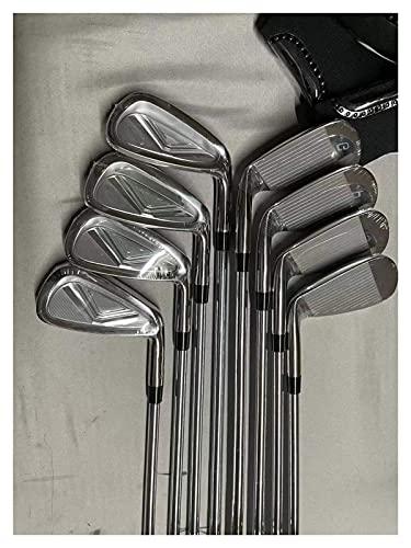 ZHBH Juego de hierros para Palos de Golf JPX S10 Juego de hierros para Golf JPX S10 5-9PSG 8 Piezas Forjado con Cubierta de Acero/Eje de Grafito