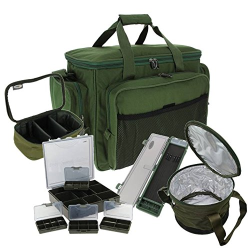 NGT CARP FISHING LUGGAGE SET CARRYALL RIG WALLET LEAD BAG TACKLE BOX 709
