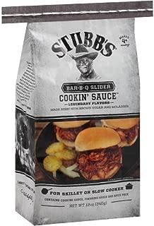 STUBBS SAUCE BBQ SLIDER