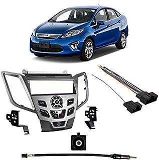 AutoTech Zone Dashboard Protector Dash Mat Sun Cover for 2014-2018 Ford Fiesta Reduce Hazardous Windshield Glare