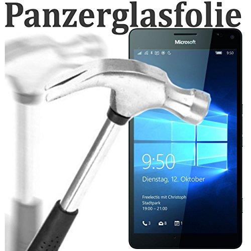 tomaxx Microsoft Lumia 950 XL Glas Glasfolie 9H Panzerglas Panzerglasfolie Schutzfolie