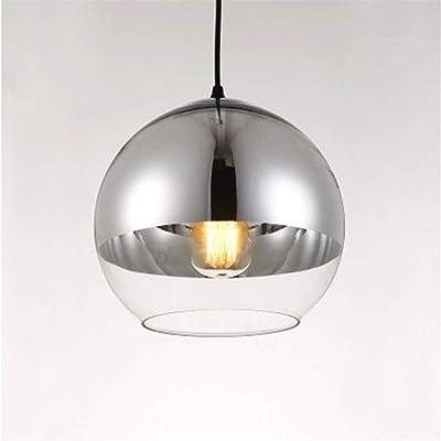 con de de esférica Elegante suspensión lámpara pantalla AR3L5jq4