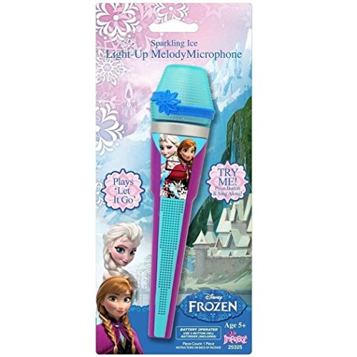 Disney Frozen Toy Microphone | Princess Sing-along Microphone For Kids / Toddlers