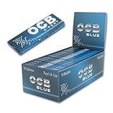 OCB X-Pert Blue - Boîte de 50paquets de feuilles à rouler courtes