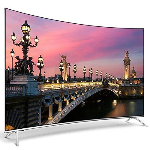 LHONG Smart TV, HDR Curvo 4K TV HDMI Full HD Android WiFi IPS LED Integrato Smart Internet Television