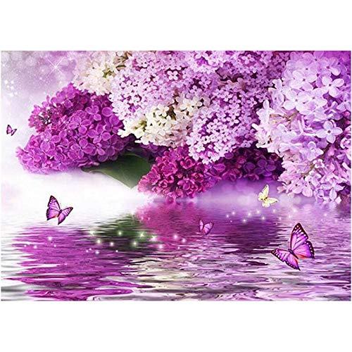 Abkaeh Puzzles de 1000 Piezas Mariposa Flor Rompecabezas para Niños para Adultos Desarrollar La Paciencia Enfoque Reducir La Presión Rompecabezas 50x75cm