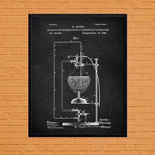 Paintings Wall Decor Chemistry Gift Chemistry Lab Microscope Patent Vintage Science Art Microscope Art Science Student Laboratory Decor Chemistry Poster
