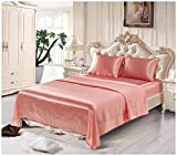 Hotqueen King Size Quilt Cover Set Flat Single Fitted Sheet Breathable Soft Comfy