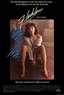 Flashdance 27 x 40 Movie Poster - Style A
