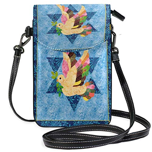 XCNGG Dove Cell Phone Purse Wallet for Women Girl Small Crossbody Purse Bags