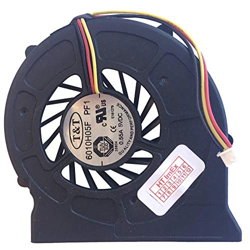 (Version 3) Lüfter/Kühler Fan kompatibel mit MSI EX600 (MS-16362), VR601 (MS-163C), Megabook EX600, VR602, EX600 YA Edition, VX600, VX600X