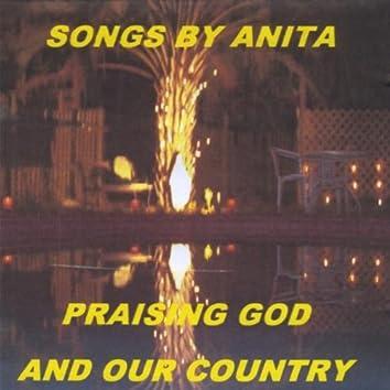 SONGS BY ANITA PRAISING GOD & COUNTRY