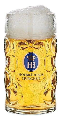 HB Hofbräuhaus München Boccale da Birra Tedesco Monaco di Baviera Hofbräuhaus München HB 0,5 Litri King Werk Ki 1000062