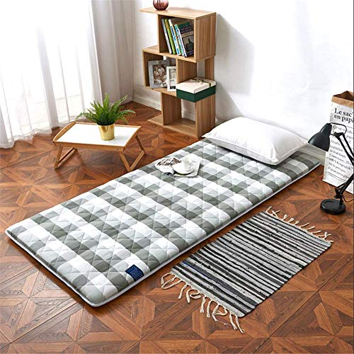 Lqfcjnb Folding Mattress Mat Lazy Bed Student Dormitory Folding Mattress Portable Tatami Mattress Floor Sleeping Pad For Home Camping Easy Storage Without Occupying Space