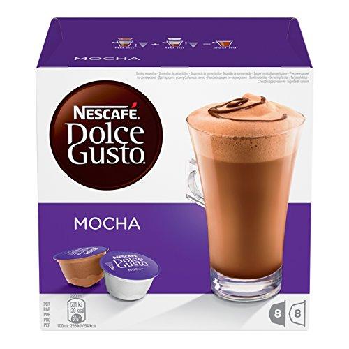 Nescafé Dolce Gusto Kaffeekapseln, Mocha, 48 Kapseln für 24 Getränke