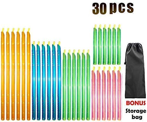 30PCS Bag Sealer Sealing Clips Sticks Chips Muti Length Ecofriendly Keep Plastic Bags Airtight Watertight amp Food Fresh Reusable amp Easy to Storage  Not Touching the Food